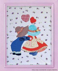 Patchwork sin aguja Quilt Patterns Free, Applique Patterns, Applique Quilts, Applique Designs, Embroidery Applique, Sewing Patterns, Quilting Projects, Quilting Designs, Sewing Projects