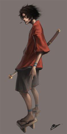 Samurai Champloo | Mugen The man's got style