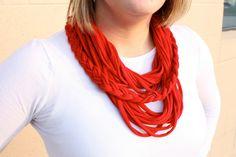 t-shirt scarf - LOVE