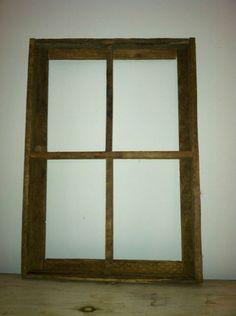 Barn Wood Window