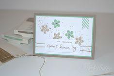 Petite Petals, Gorgeous Grunge, Geburtstagspuzzle, Geburtstag, Geburtstagskarte, Stampin' Up!, Kritzelherz, Karte