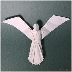 bildergebnis f r weihnachtskarten basteln engel origami. Black Bedroom Furniture Sets. Home Design Ideas
