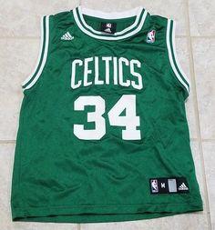 Details about Boston Celtics NBA Jersey Paul Pierce Adidas Size Youth Medium 89b143111