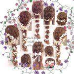 "53 Likes, 2 Comments - yukina (@yukina_hair1103) on Instagram: ""ヘアアレンジ♡ 仕上げのトップを引き出すバランスが大事です♡  #ヘアアレンジ  #簡単ヘアアレンジ  #ロープ編み #結婚式 #お呼ばれ #wedding #braid #ヘアアレンジ解説"""