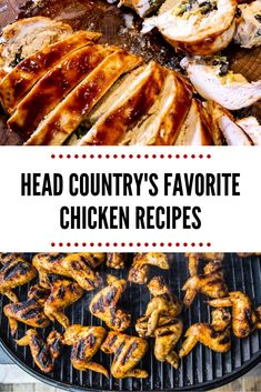 Beer Brined and Barbecued Buffalo Wings Favorite chicken recipes using Head Country BBQ sauce. There are so many ways to cook chicken full of flavor and we are showing you how. Check out these recipes before you cook your next chicken meal. Best Bbq Recipes, Healthy Grilling Recipes, Fun Easy Recipes, Healthy Chicken Recipes, Best Chicken Wing Recipe, Chicken Wing Recipes, Head Country Bbq Sauce Recipe, Ways To Cook Chicken, Buffalo Wings