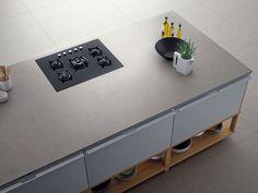 Porcelain stoneware kitchen worktop FOSTER iTOPKer iTOPKer Collection by INALCO - INDUSTRIAS ALCORENSES CONFEDERADAS | design Inalco