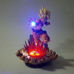Goku Action Led Light