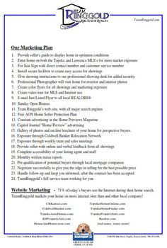pre-listing packet 2