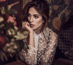 Photography:Signe Vilstrup Styled by: Simone Guidarelli Makeup:Branislav Nikic Model: Rocío Muñoz Morales