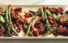 Spicy Pork with Asparagus and Chile - Bon Appétit