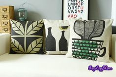 Throw pillow/Pillow cover/Decorative throw by FayeCozyhome on Etsy