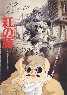 Porco Rosso (1992) Hayao Miyazaki
