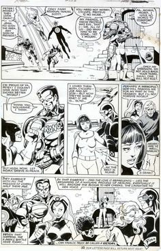 Uncanny X-Men #128, page 30 by John Byrne & Terry Austin. 1979.