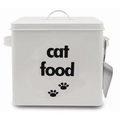 Latinha de comida de gato