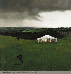 martin gale - two corbies Graphic Art Prints, Three Rings, Yurts, Historical Pictures, Crows, Ravens, Artworks, Irish, Landscapes