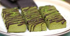 Matcha adds color and antioxidants to these treats