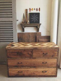 Rustic Dresser Made from Pallets | Pallet Furniture DIY