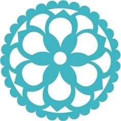 Silhouette Design Store - View Design #23948: scallop edge floral lace