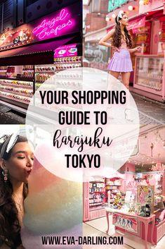 Your Guide to Shopping Takeshita Street in Harajuku, Tokyo - Travel Homepage Tokyo Japan Travel, Japan Travel Guide, Asia Travel, Japan Trip, Kyoto Japan, Tokyo Trip, Okinawa Japan, Travel List, Travel Guides