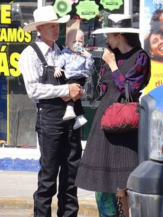Mennonite Family,  Campeche