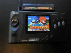 Modify Sega Nomad with better screen and improved battery life
