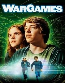 "War Games 1983 film - ""A young man finds a back door into a military central computer in which reality is confused with game-playing, possibly starting World War III."" (IMDb website)"