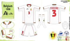 Belgium away kit for the 1998 World Cup Finals.