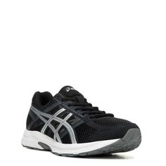 ASICS Men's Gel-Contend 4 X-Wide Running Shoes (Black/Silver/Grey) - 11.5 4E