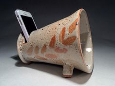 Ceramic Speaker : Brandon Howell Pottery