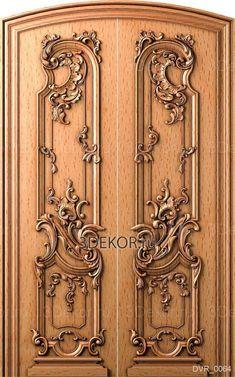 Main Entrance Door Design, Wooden Main Door Design, Double Door Design, Front Door Design, Wooden Art, Wooden Doors, House Main Door, Showroom Interior Design, 3d Wall Decor