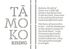Wearing it on the face, says Ōtautahi master carver and tohunga moko Riki Manuel, shows a great commitment to the culture: it is an indelible part of how the world sees you as a person.