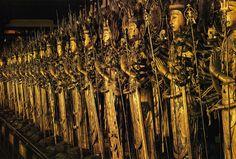 臼杵石仏群 古園大日如来坐像頭部©Ken Domon
