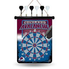 Colorado Avalanche NHL Magnetic Dart Board
