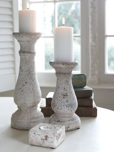 Rustic Candle Holder from http://www.nordichouse.co.uk/   Inspiration pin.