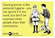 E cards | Grammar
