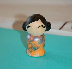 Teaching about Japan: doll painting