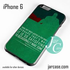 Martian Manhunter Quote Phone case for iPhone 6 and other iPhone devices