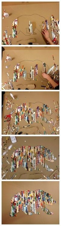 Thinking about doing this for my next art project at school