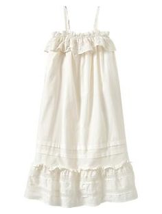 Pintuck ruffle dress - Thought this would be a cute vintagey Flower girls dress?