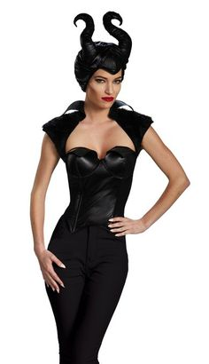 Sexy Maleficent Costume for Women #maleficent