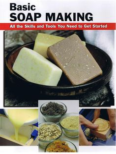 Our resident expert deemed this the best resource on home soapmaking. Learn all the skills and tools you need to get started in this practical, fun hobby. Clearly written, step-by-step directions and large, full-color photos make it almost impossible to g