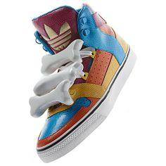 Adidas Jeremy Scott Bones Multicolor Shoes