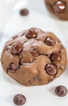 Softbatch Cream Cheese Chocolate-Chocolate Chip Cookies