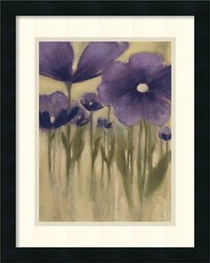 'Summer Bloom I' by Vittorio Maria Framed Painting Print