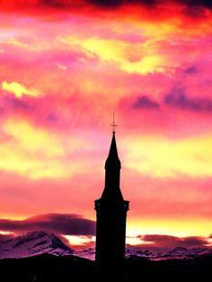 SAN CARLO CANAVESE - le luci dei tramonti invernali - by Guido Tosatto