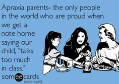 Confession.... Ha! Repinned by Apraxia Kids Learning. Come join us on Facebook at Apraxia Kids Learning Activities and Support- Parent Led Group.