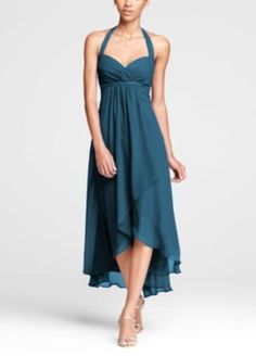 Bridesmaids  Peacock Dress Color by Davids Bridal Davids Bridal Bridesmaid  Dresses e0d53925747a