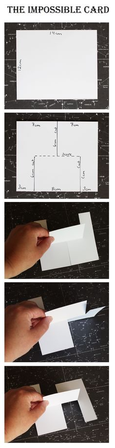 Tutorial or how to create The impossible card. There is also a video tutorial in the blog. Created by Kirsten Hyde.