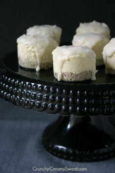 Coconut Cream Mini Frozen Desserts with White Chocolate Magic Shell