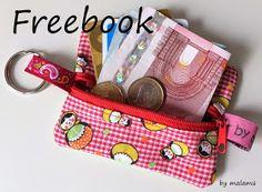 Einfach schöne Sachen...by malamü: Jetzt gibt's ein Freebook für Euch - Mini-Schlüsselbörse